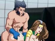 X-men hentai porn